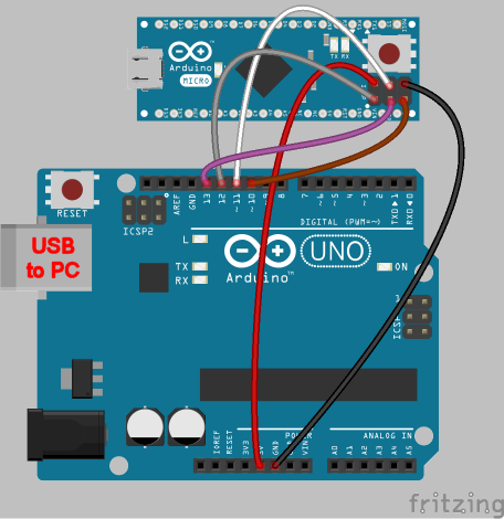Arduino pro micro bootloader download