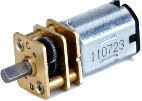Picture of small DC motor