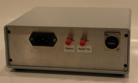 Image of power supply rear panel